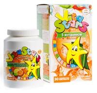 Мультивитаминный комплекс VitaStars 5 витамин + Холин со вкусом цитрусовый микс